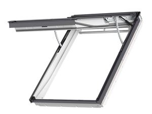 Picture of Velux Integra Electric top-hung Roof Window White Polyurethane 66X118 Electric Outward-opening roof windowFK06