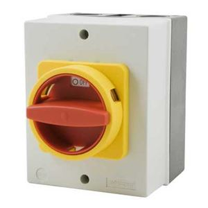Picture of 100 amp Rotary Isolator Switch 3poleIS3-100