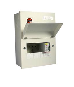 Picture of 5way consumer unit ALL METAL C/W 100A RCDAMENDMENT 3